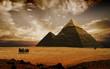 Quadro mystical pyramids