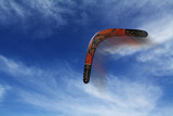 Boomerang fliegt