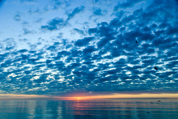 Sonnenuntergang in Naples,Florida,USA