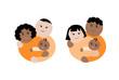 famiglie differente etnia