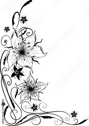 lilien filigran und feminin stockfotos und lizenzfreie vektoren auf bild 13509043. Black Bedroom Furniture Sets. Home Design Ideas