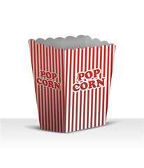 Blank Popcorn box