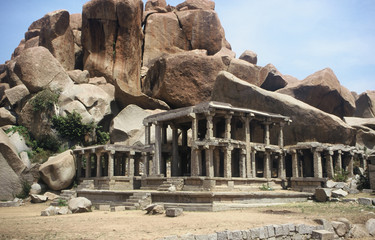 Temple in Hampi,India