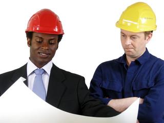 Architekt und Bauleiter