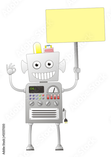 robot giving ok