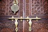 Islamic style door poster