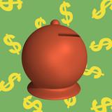 Moneybox 3d poster