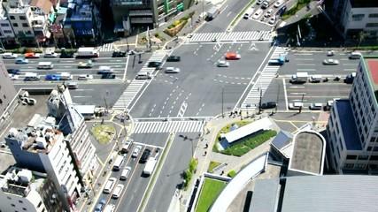 Carrefour à Tokyo - HD, accéléré