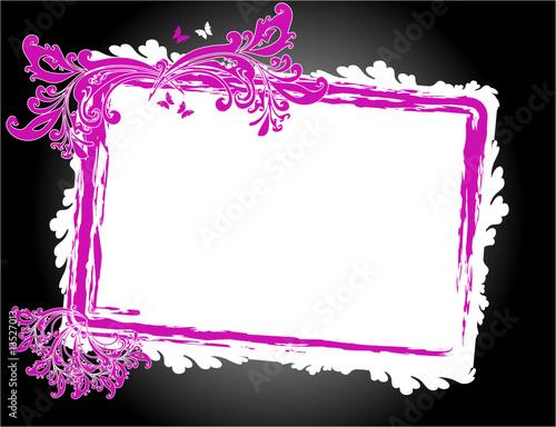 Rahmen Hintergrund Pink