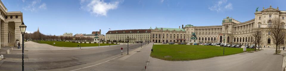 Hofburg palace pan