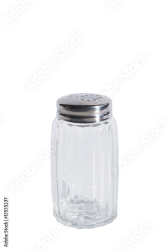 empty glass spice jar