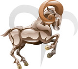 Fototapety Aries the ram star sign