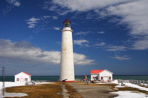 Fotobehang Vuurtoren / Mill Lighthouse Canada