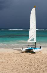 Small Tropical Catamaran