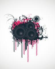 Music Design Elements Vector Illustration