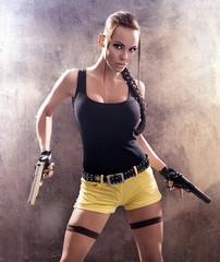 Lara Croft strikes back