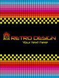 Arcade videogames retro background poster