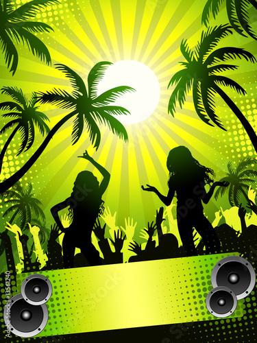 stock photo disco party