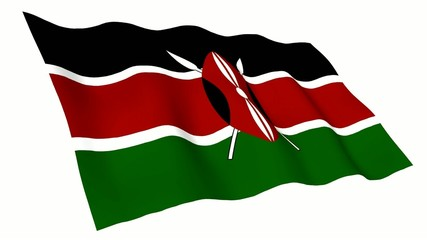 Kenya Animated Flag