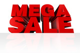 Mega Sale Headline poster