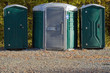 Portable Potties or Outhouses