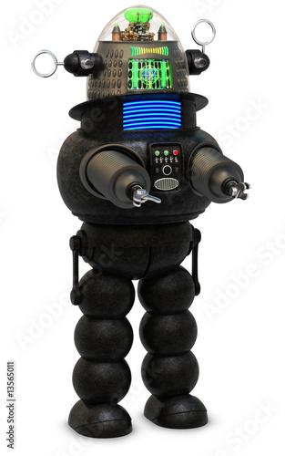 Foto op Plexiglas Retro Retro Robot