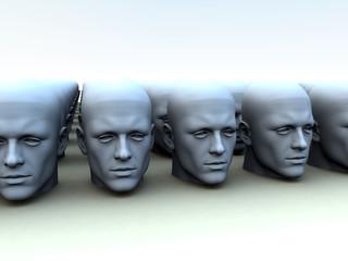 Identical Heads