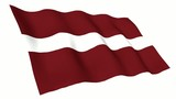 Latvia Animated Flag poster