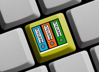 Alles zum Thema Steuern im Internet