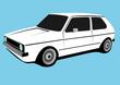 classic compact car
