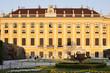 Seitenansicht von Schloss Schönbrunn