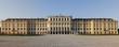 Panoramaaufnahme vom Schloss Schönbrunn