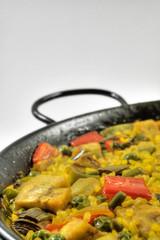 Vegetarian Paella - Spanish rice