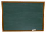 Fototapety Write Your Message on Blank Chalkboard