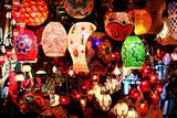 Lanterns at Grand Bazaar in Istanbul poster