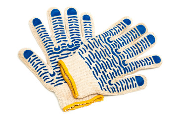 fabric protective gloves