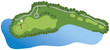 Golf Course Hole - 13589226