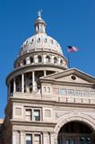 Texas state senate building in Austin poster