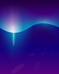 Equaliser Waveform abstract background. Vector layered.
