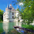 beautiful azey-le-redeau castle