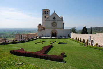 Basilica of Saint Francis in Assisi, Italy