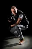 Hip Hop Dancer Performing poster