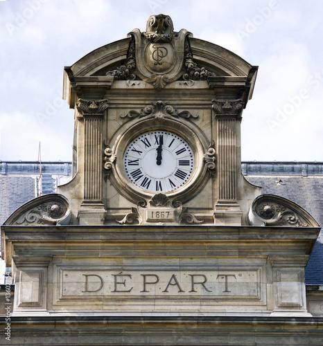 Horloge De La Gare D 39 Austerlitz Paris De Danielle Bonardelle Photo Libre De Droits 13602854