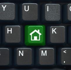 """""""Home"""" key on keyboard (green)"""
