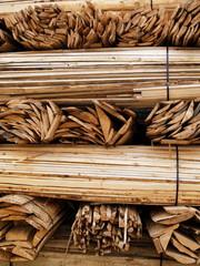 bottes de bois pour l'usinage