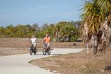 Active Seniors Biking poster