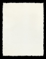 Deckle Edged Paper