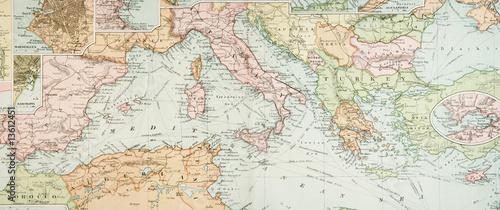 Panoramic Antique Map