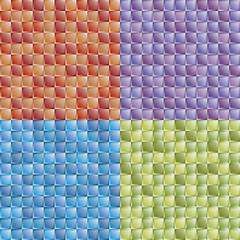 Seamless mosaic colorful tiles