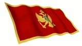 Montenegro Animated Flag poster